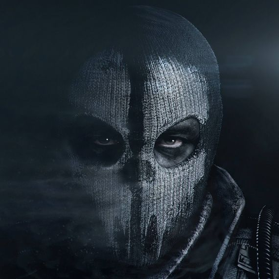 Call of Duty Ghost Mask | Call of Duty Ghosts | Pinterest