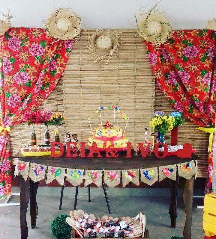 """19 Likes, 4 Comments - Mania de Decorar Festas (@_maniadedecorar_) on Instagram: """"Locações para mais um ARRAIÁ  #festajunina  #festas #Arraia #decoração #festasrj…"""""""