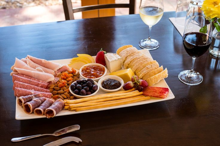 Lake Breeze Platter - absolutely delicious food and wine. Sit up stairs on the balcony over looking the vineyard! A must do...xx