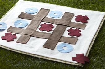 DIY fabric blanket games