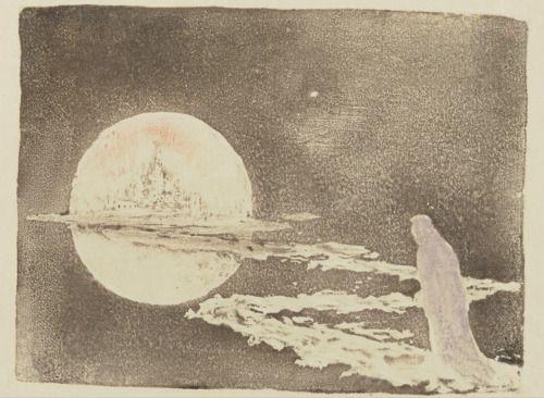 """songesoleil: """" Le palais des rêves. The Palace of Dreams. Estampe. Art by Pierre Roche.(1855-1922). Graveur. Gypsographie de Pierre Roche. """""""