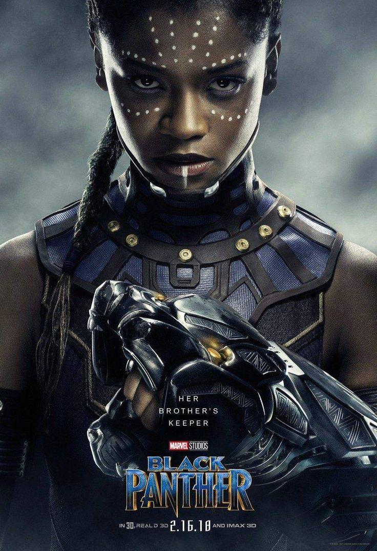 Pantera Negra - Novos pôsteres belíssimos destacam os heróis e vilões do filme! - Legião dos Heróis