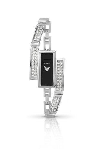 SEKSY Wrist Wear By SEKONDA - 4884.37 - Montre Femme - Quartz - Analogique - Bracelet Acier Inoxydable Argent