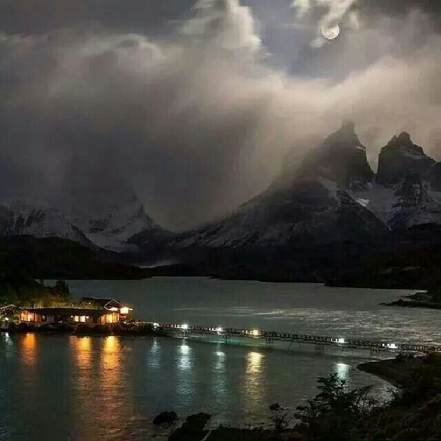 Torres del Paine - Lago Pehoe  Magallanes CHILE