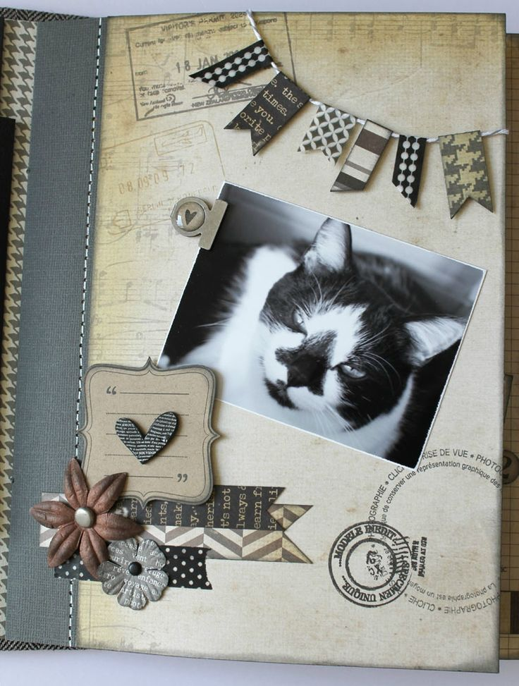 2831 best id e mini album images on pinterest mini - Idee scrapbooking album photo ...