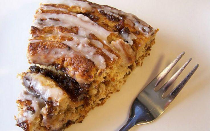 Prepara un pastel de café y canela