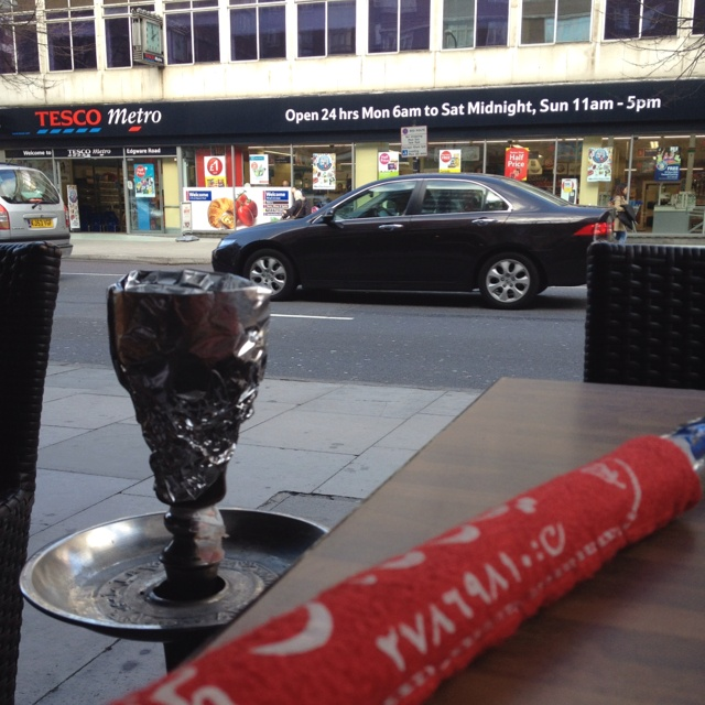 The Shisha places on Edgware Road