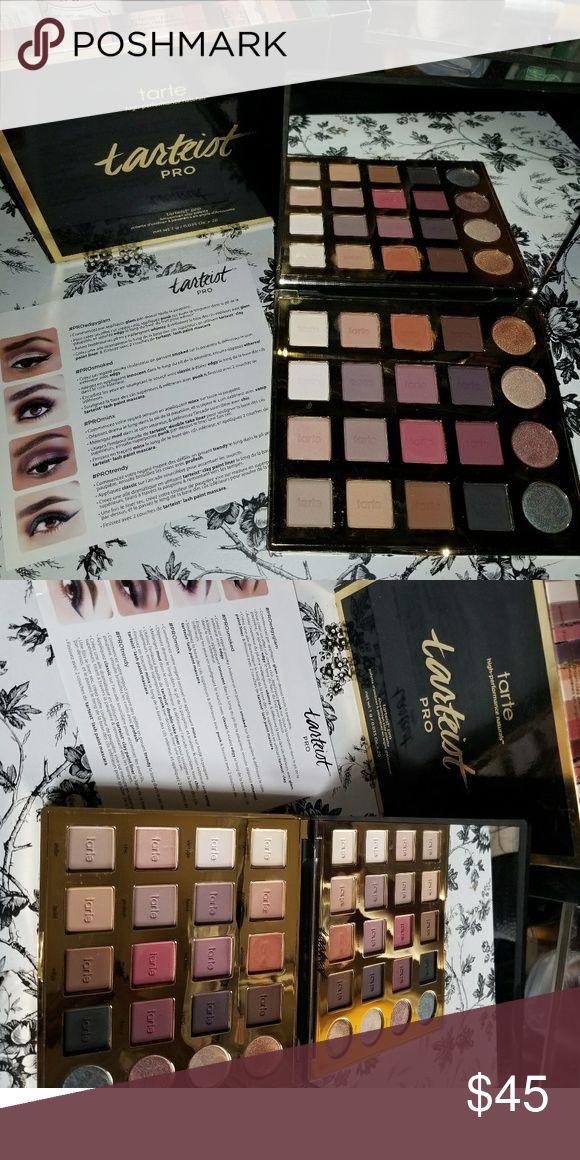 Tarte Tarteist Palette Tarte Tarteist Palette  Brand New In Box   100% Authentic tarte Makeup Eyeshadow