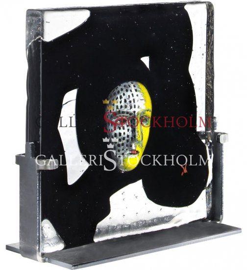 Bertil Vallien - Glaskonst - Black Elements River Beställ här! Klicka på bilden.