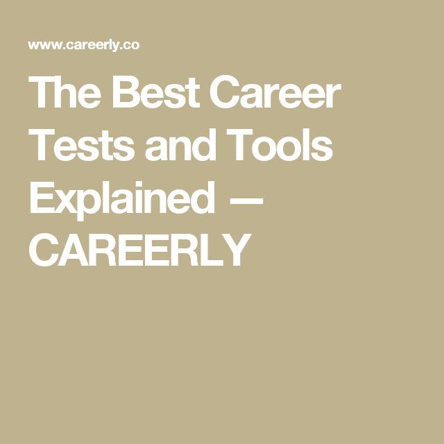 Die besten 25+ Best career test Ideen auf Pinterest Sat college - career test free