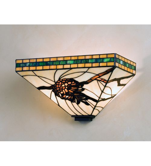 Wall Sconces Stained Glass : 57 best images about glass on Pinterest Stained glass fireplace screen, Window panels and Four ...