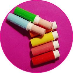 Retro lipstick sweets.... ahhh these were so delicious!!!!