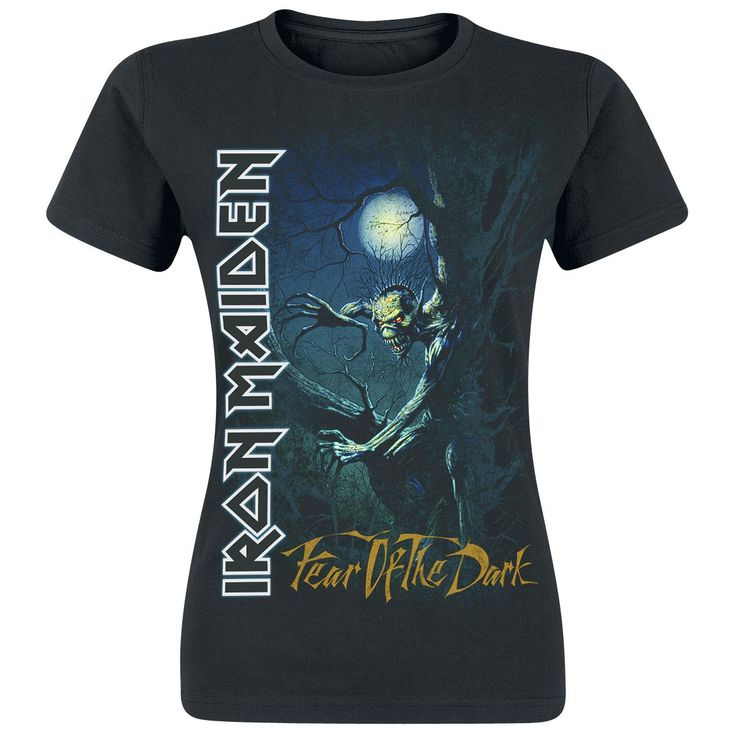 Fear Of The Dark - T-Shirt by Iron Maiden