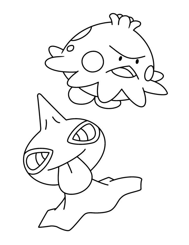 pokemon group coloring pages - photo#43
