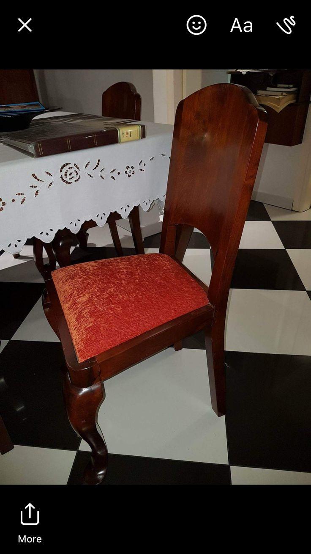 Furniture Made in 1955 by Michael Zeimbekakis in Paleohora, Crete