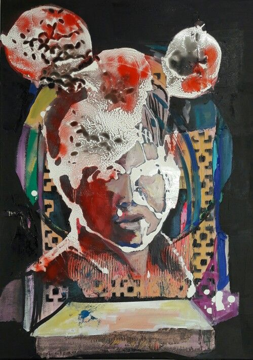 SOLD mixed medie 50x70