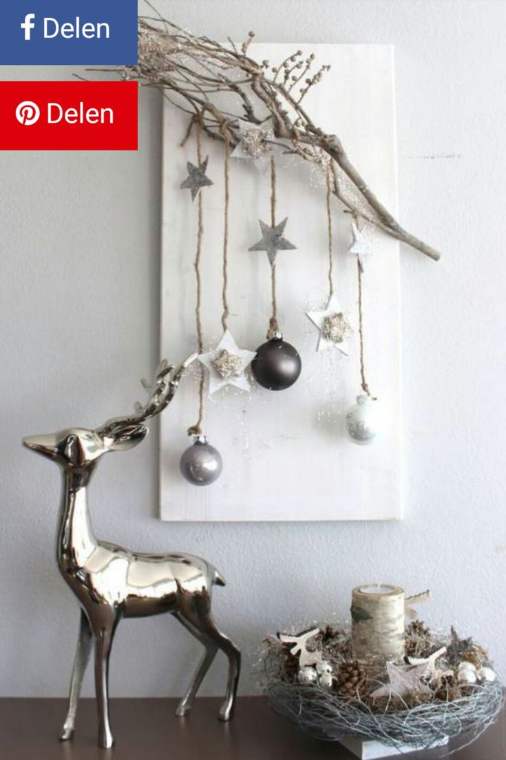 Elegante kerstdecoratie