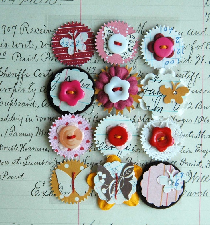 Eve Johnson - Scrapbook embellishments