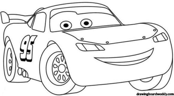 Lightning Mcqueen Coloring Pages   Disney coloring pages ...