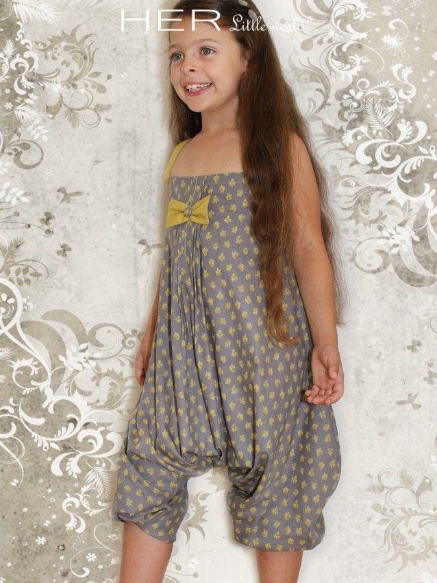HER Little world, Patron de couture pour vêtement enfant, Combi-sarouel Vagabond