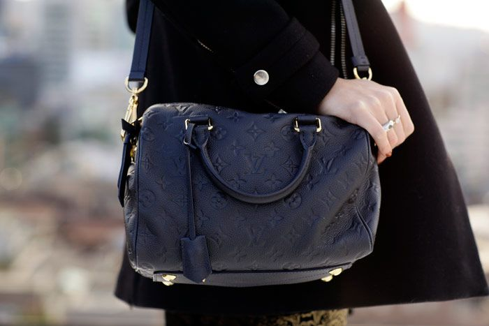 Louis Vuitton Empreinte Speedy 25 in Infini <3 this bag has been on my wishlist FOREVER! lol