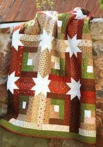 Log Cabin Hidden Stars Useful and beautiful - a piece that can be used and passed on