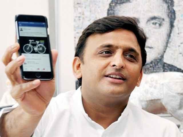 Chief Minister of Uttar Pradesh promises to launch Samajwadi Smart Phones soon.