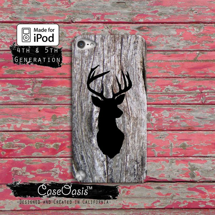 Deer Head Buck Black Camo Wood Hunting Cute Custom Case iPod Touch 4th Generation or iPod Touch 5th Generation Rubber or Plastic Case by CaseOasis on Etsy https://www.etsy.com/listing/178157849/deer-head-buck-black-camo-wood-hunting