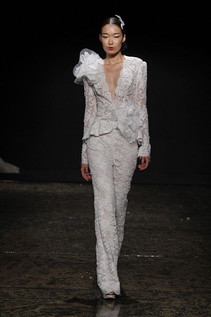 15 Best Wedding Gowns Pant Suit Images On Pinterest