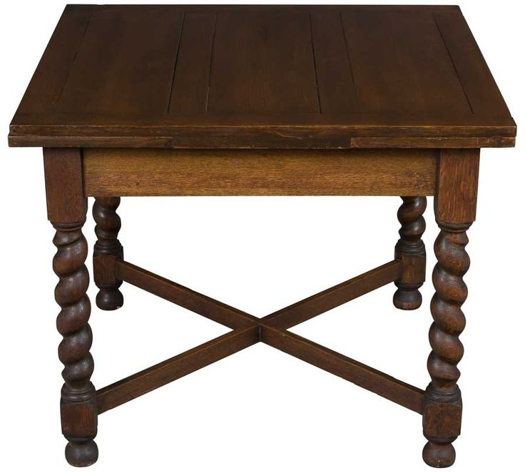 Antique Oak English Pub Table