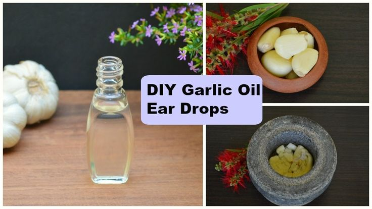 Ear Infection? DIY Garlic Oil Ear Drops For Earache Relief In Adults & K...