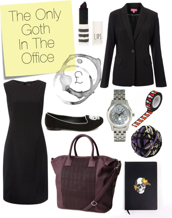 The Only Goth in the Office [£]