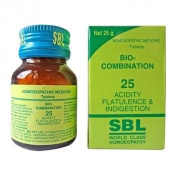 Sbl Bio Combination No 25 For Acidity Flatulence And