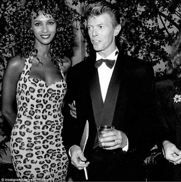 David Bowie's wife Iman lied to get to US from Kenya to model ...