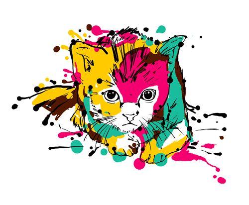 Ilustração de gato 2