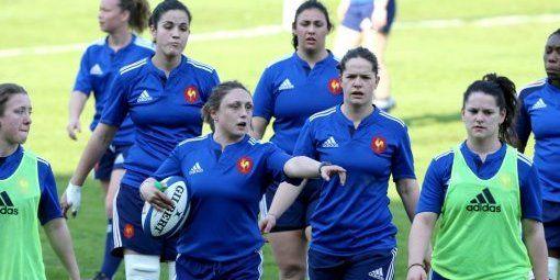 France féminines : découvrez l'entraînement de la capitaine en photos - La République des Pyrénées - 13/03/2014