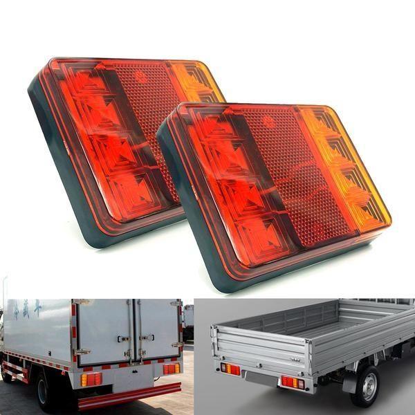 Motorcycle Led Turn Signal Lights Cars Trucks Warning Lights Tail Light