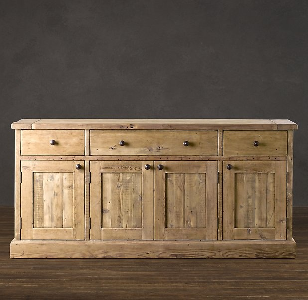 Top with a stone countertop to make a kitchen island?