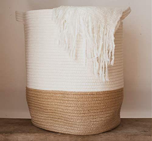 Extra #Large #Woven #Storage #Baskets # | # 18 ″ #x # 14 ″ #Dekorativ    – – Aufbewahrung