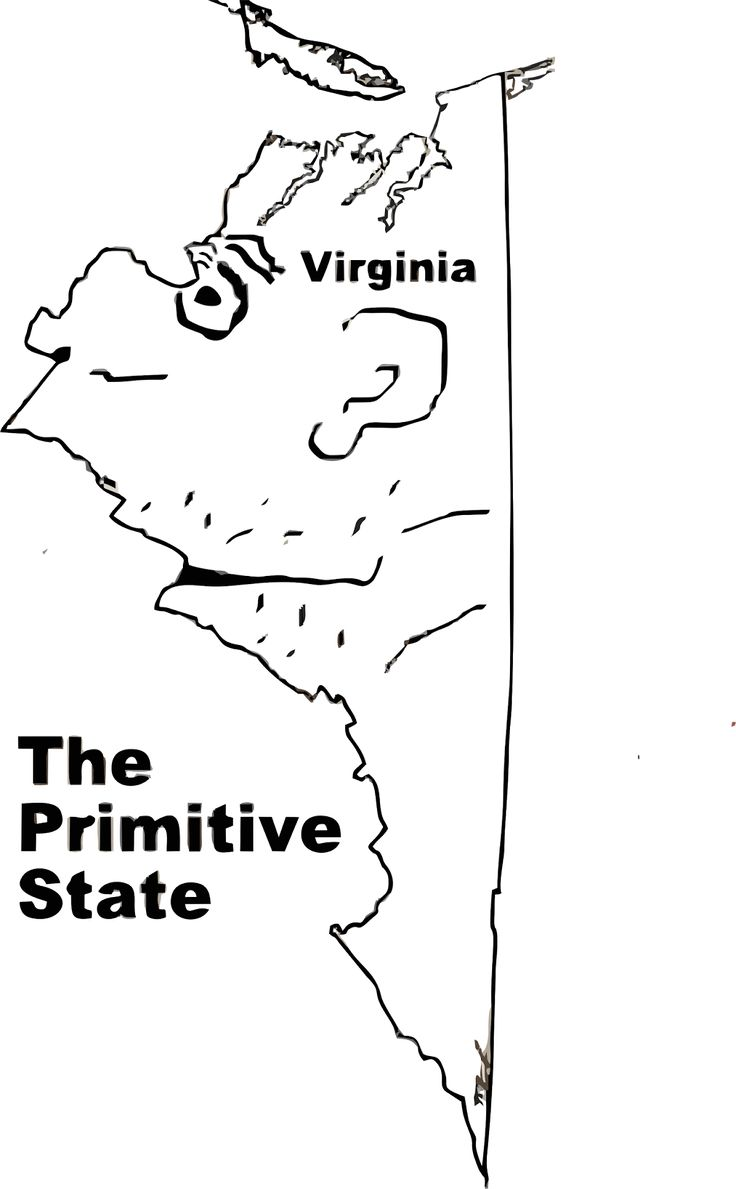 Funny maps: A funny map of Virginia