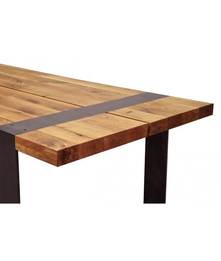 Stół Iron - Nowoczesne stoły drewniane - Sklep Lupus73