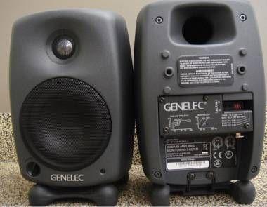 Genelec 8020a Usate in studio solamente