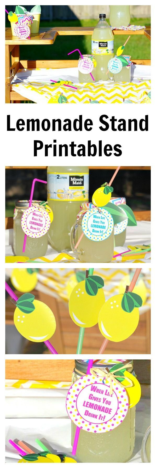Lemonade Stand Printables (With images) Lemonade stand