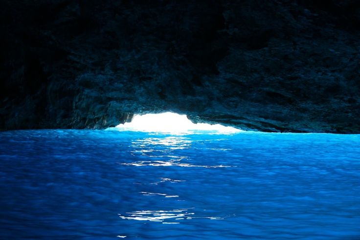 The magical Blue Cave/ Blue Grotto on the colourful Greek island of Meis/ Kastellorizo gallivantgirl.com