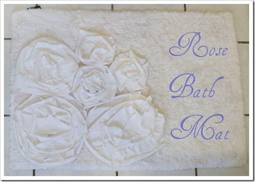 Unique Diy Bath Mats Ideas On Pinterest Bath Mats Rugs - Rose bath rug for bathroom decorating ideas