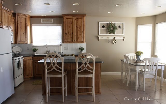 Favorite Paint Colors: Ventana Paint Color Is Nice With Oak And With The  White Tile Like Ours And White Fridge. | PAINT COLORS | Pinterest | White  Tiles, ...