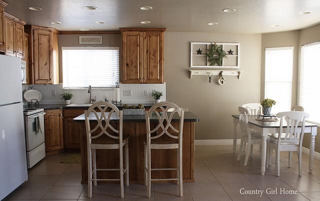 Pashmina Painted Kitchen Cabinets