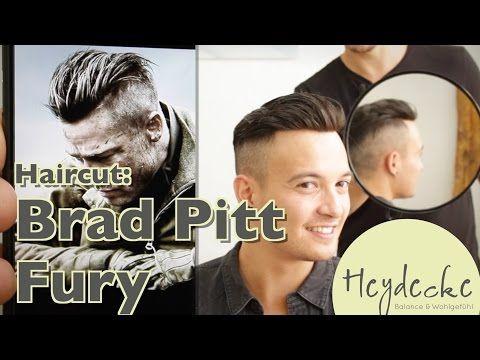 Stupendous 25 Beste Ideeen Over Brad Pitt Fury Haircut Op Pinterest Hairstyle Inspiration Daily Dogsangcom