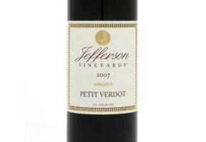 Jefferson Vineyards Petit Verdot Monticello (2008)