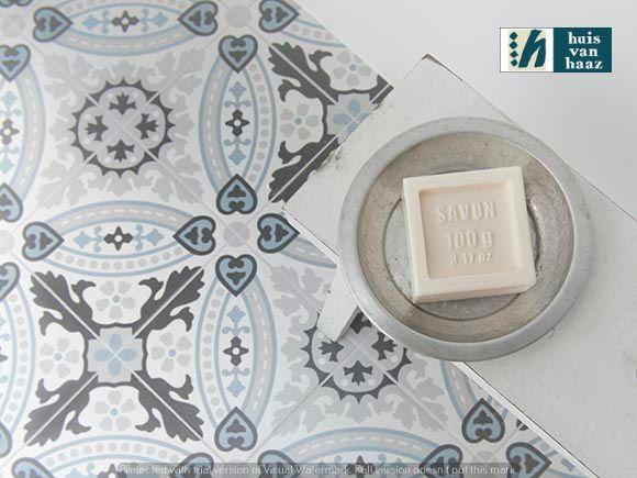Huis van Haaz Keramische patroontegels!